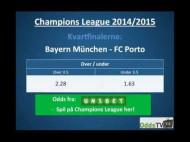 Spilforslag: Bayern München – FC Porto – 2. kvartfinale