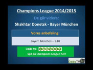Champions League: Bayern München – Shakhtar Donetsk – hvem går videre?