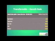Transferodds – Gareth Bale