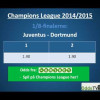Champions League: Borussia Dortmund – Juventus – hvem går videre?