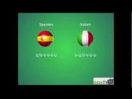 EM 2012-finalen: Spanien – Italien