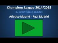 Spilforslag: Atletico Madrid – Real Madrid – 1. kvartfinale-kamp