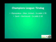 Olympiakos – Man. United (Champions League 1/8-finaler)