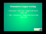 Barcelona – Manchester City (Champions League 1/8-finaler)