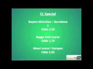 OddsSPECIAL: Bayern München – FC Barcelona