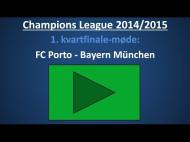 Spilforslag: FC Porto – Bayern München – 1. kvartfinale-kamp