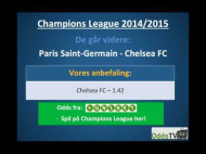 Champions League: Chelsea – Paris Saint-Germain – hvem går videre?