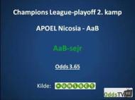 Spilforslag: AaB vinder over APOEL