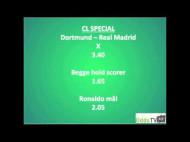 OddsSPECIAL: Dortmund – Real Madrid