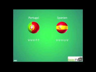 EM 2012: Portugal – Spanien