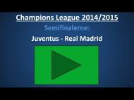Spilforslag: Juventus – Real Madrid – 1. semifinale-kamp