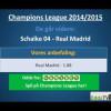 Champions League: Real Madrid – Schalke 04 – hvem går videre?