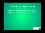 Champions League 1/8-finaler pt. 2 ONSDAG