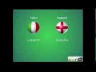 EM 2012: England – Italien