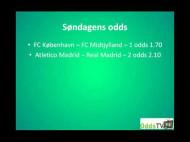FCK – FCM (Søndagens oplagte odds)