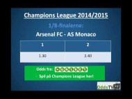 Champions League: Monaco – Arsenal – hvem går videre?