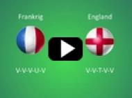 EM 2012: Frankrig – England – Frankrig-sejr