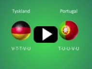 EM 2012: Tyskland – Portugal – Tyskland-sejr